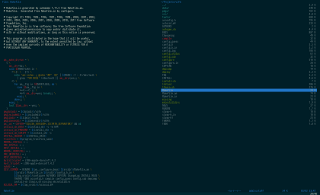Vifm with dark solarized theme on OS X #2